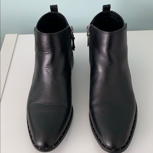 Steven by Steve Madden leather booties